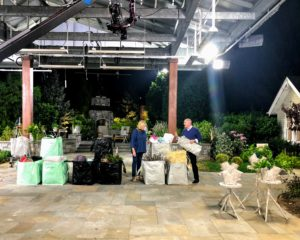 These Multi-Purpose Heavy Duty Garden Totes are among my favorite items. They can carry so many things, and they are reusable and waterproof. Here I am with QVC host, Dan Hughes, introducing the TSV during the midnight hour. These TSV items are chosen and sold for a full 24-hours.