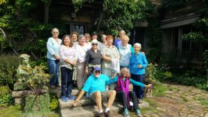 And here's another group shot - this one of some of the members from the Beth C. Wright Cancer Resource Center. In the back row, fourth from the left is Amy Kurman, who worked for me as a gardener at Skylands some years ago. I am glad everyone enjoyed their visit.