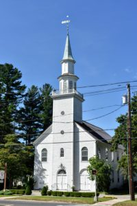 Woodbury is very historic. St. Paul's Episcopal Church sits across the street from Tucker's shop. It was first organized in 1740.