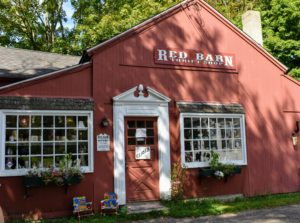 The Red Barn Thrift Shop is the go-to place for gently used clothing, household items, books, linens.