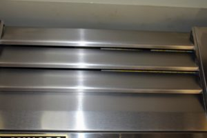 Here is the vent cover - cleaned and returned to its position over the freezer.