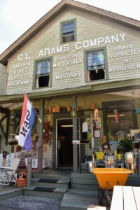Woodbury is also home to this charming old hardware and feed store, CL Adams Company.