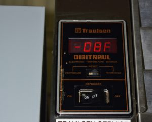 Check the temperature often. All freezers should be kept at zero-degrees Fahrenheit, or negative-18 degrees Celsius, so adjust the controls when necessary and call in a professional if it starts fluctuating on its own.