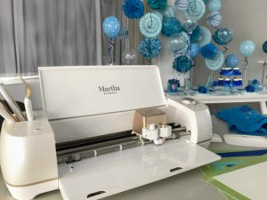 This Special Edition Martha Stewart Cricut comes in a pretty pearl color with all the essential tools you need to make so many wonderful projects. http://www.michaels.com/martha-stewart/cricut/984061526