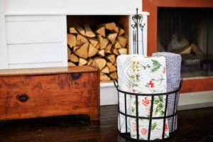 They look great rolled in a basket by the fireplace - ready to use. I know you'll love my new Farmhouse Collection, created exclusively for Macy's. Go to the web site and check them out this holiday weekend!