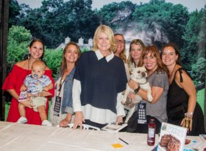 Here are some of the members of my team who joined me at the USA Today Wine & Food Experience in Brooklyn - Rachel Stewart and her son, Beau, Heather Kirkland, Kim Miller-Olko, Judy Morris, Dorian Arrich, Blaze Pennington and Creme Brulee - Bete Noire was busy greeting guests. (Photo by Richard Formicola)