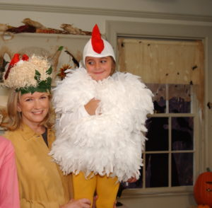 This is still one of our most popular, most requested children's costumes. This chicken costume is so fun, and can be passed between families and friends since it's suitable for young girls and boys.