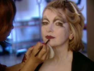 """I've been fortunate to work with talented costume and makeup artists over the years. One such opportunity was for the cover of the Halloween magazine as the """"Black Widow."""" We filmed the entire transformation; watch behind-the-scenes on the MarthaStewart.TV App!"""
