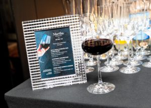 Martha Stewart Wine Co. provided a trio of my favorite wines for all the guests. The varieties include a 2016 Le Vassal de Mercues Cuvee Le Dueze Malbec, La Reference Sauvignon Blanc and a bordeaux from L'Arche Perlee. (Photo by Benjamin Lozovsky for BFA)