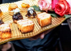 These ham and cheese croque monsieurs were another big hit. (Photo by Benjamin Lozovsky for BFA)