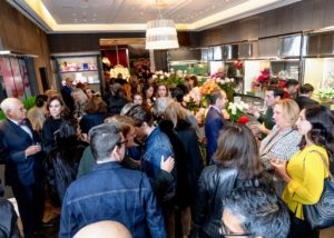 It was great to see so many friends, colleagues, clients and other members of the media - Baccarat was a full house. (Photo by Benjamin Lozovsky for BFA)