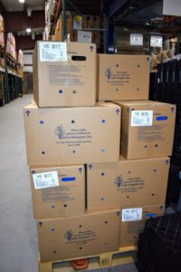 All the bulbs are shipped in boxes specially made with holes for proper air circulation around the bulbs.