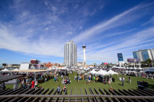Here is a wide view of the Festival Grounds. The entire space is 26-acres and has the capacity to hold 85-thousand people. (Photo by Brenton Ho for MGM Resorts International)