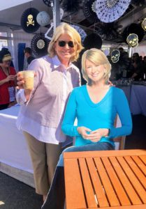 """Guests also got to sit at """"my table"""" and take photos with """"me"""". I hope to see you at the next USA Today Wine & Food event! Cheers!"""