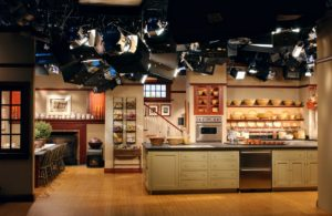 In September 1997, we moved production to a brand-new, state-of-the art facility. Some of you may recognize Studio A, the kitchen set inspired by my home in East Hampton, New York.