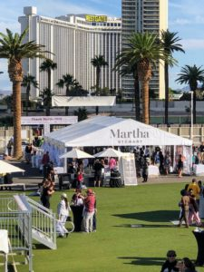 At all our USA Today Wine & Food events, visitors can step into this Martha Stewart Experience Pavilion to see all our partnering brands, ask questions about my products and join in on a crafts projects.