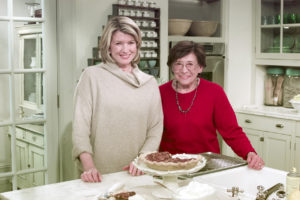 Perfect Pecan Pie: Here I am with Mom after preparing another one of our family's Thanksgiving culinary traditions, pecan pie. She would be tickled to know her fans are now able to watch her on a mobile phone!