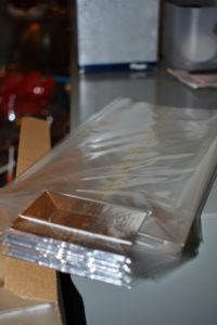 These clear cellophane bags are available online and can be so helpful for packaging candies, cookies, and other small gifts.