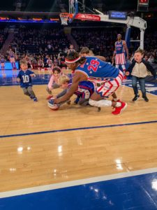 At one point, children were allowed to join the players on the floor. My grandson, Truman, is in there somewhere. He had so much fun.