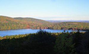 Not far is Eagle Lake – at 436-acres, it is the largest fresh water lake in Acadia National Park on Mount Desert Island. It has a maximum depth of 110-feet and an average depth of 50-feet.