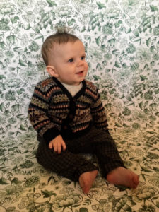Here is another beautiful photo of Danielle's son, Jonah, who grew his first two teeth just for the occasion!