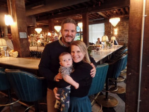 Danielle Malin, one of our designers, enjoyed a lovely Thanksgiving with her husband's family. It was the first for their son, Jonah Rye.