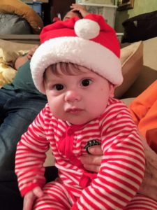 By the end of the day, Cathryn's son, Ethan, was ready to move on to the next holiday.