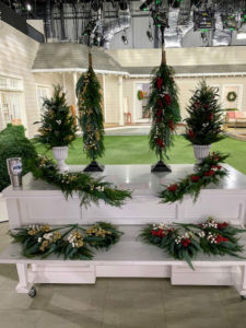 The cedar garland coordinates well with my Cedar Topiaries, Swags and Picks. Get them all and fill your home with wonderful holiday color this season.
