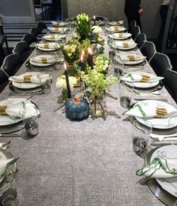 Our VP of business development, James Setton, shared this photo of his Thanksgiving table.