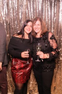 Here's a photo booth image of Kaitlyn D'Angelo and her mom, our Home Division President, Carolyn D'Angelo.