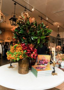 Many tables were also decorated with arrangements inspired by the book. (Photo by Kolasinski for BFA)