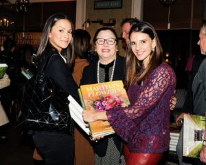 It was nice to see guests purchase books for themselves and for friends and family. Here are Camilla Hansen, Liz Layug, and Paola Franco. (Photo by Kolasinski for BFA)