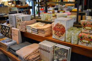 It offers books on organic cooking, and a variety of kitchen and gardening supplies.