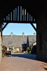 The main entrance leads to a common courtyard square and group of beautifully converted barns and outbuildings.