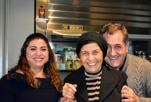 Enma, Laura and Carlos