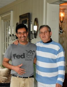 Here are Carlos and Fernando - colleagues and good friends. Fernando has been working with me for 21-years - first at our River Bend space in Stamford, Connecticut, then at the Westport, Connecticut studio, then the New York City studio and then here at the farm.
