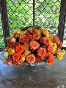 This summer, I used many of the roses in bouquets at Skylands, my home in Maine.