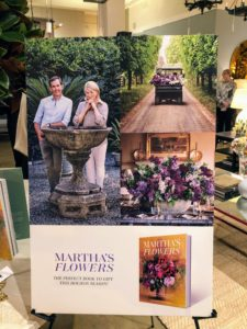 There were signs throughout the showroom featuring photographs from the book - thank you, Michael, and your wonderful staff for promoting the book and for hosting such a lovely party!
