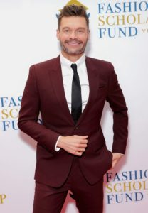 And here is fellow honoree, television show host, radio personality, and producer, Ryan Seacrest. (Photo by Cindy Ord/Getty Images for Fashion Scholarship Fund)