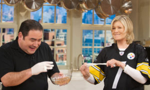 Chef Emeril Lagasse has joined me in the kitchen many times for food and fun.