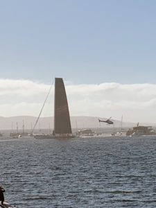 Wild Oats XI was first to cross the finish line at 8:07am, Australia time, after one of the closest contests in the event's history.