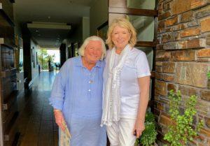 Here I am with Mrs. Fox, my best friend in Australia.