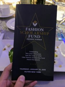 The Fashion Scholarship Fund looks to advance the fashion industry by encouraging gifted and enterprising young people to pursue careers in design, merchandising, retailing and business. This helps to ensure the industry will continue to attract dedicated, capable and creative individuals. https://www.ymafsf.org/