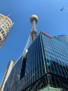 We saw the Sydney Tower - Sydney's tallest structure and the second tallest observation tower in the Southern Hemisphere.