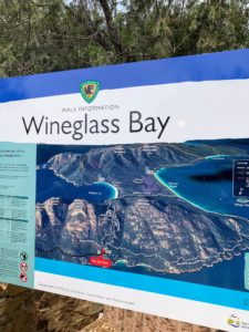 Located along the eastern side of the Freycinet Peninsula and in Freycinet National Park is Wineglass Bay. Its sandy beach is considered one of the top-10 beaches in the world.