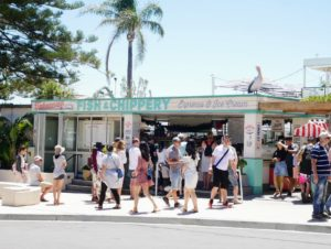 We continued our walk and saw this popular roadside stand - the Fish & Chippery.