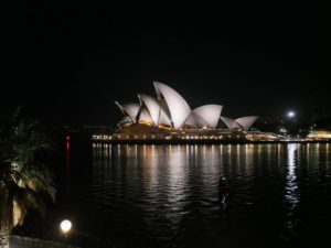And I am sure you all recognize this - the stunning Sydney Opera House, the multi-venue performing arts center. It is one of the 20th century's most famous and distinctive buildings on the harbor. I saw it right from my hotel window. The view takes your breath away.