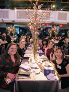 It was great to see students seated at the Gala - many of us had the chance to speak with them and to hear how passionate and how enthusiastic they are about their studies and about the industry.