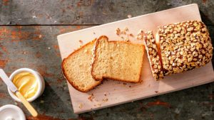 In the same show, modernist baker, Francisco Migoya, makes an unusual and ingenious pressure caramelized oat sandwich bread. (Photo by Mike Krautter) https://modernistcuisine.com/about-modernist-cuisine/francisco-migoya/