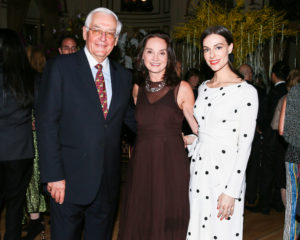 Here is NYBG Chairman of the Board, J. Barclay Collins II, NYBG President, Carrie Rebora Barratt, and Ariana Rockefeller. (Photo by Angela Pham, BFA.com)